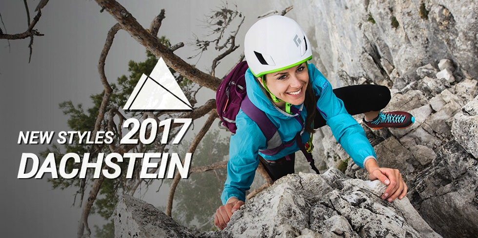 Trekking, hiking, ferrata, mountaineering boots from Dachstein 2017 collection