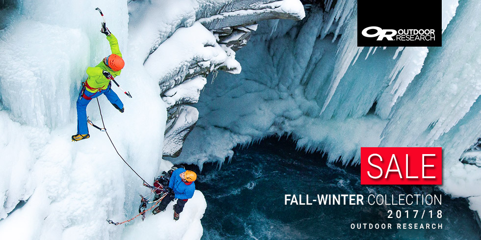 Outdoor Research Fall Winter 2018 SALE - clothing, gloves, gaiters
