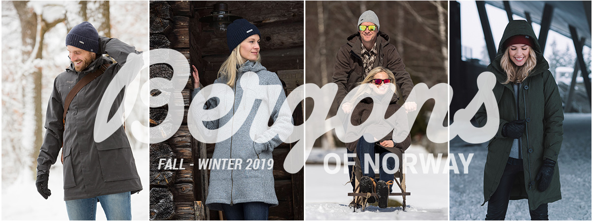 Bergans of Norway Fall Winter 2019 Collection