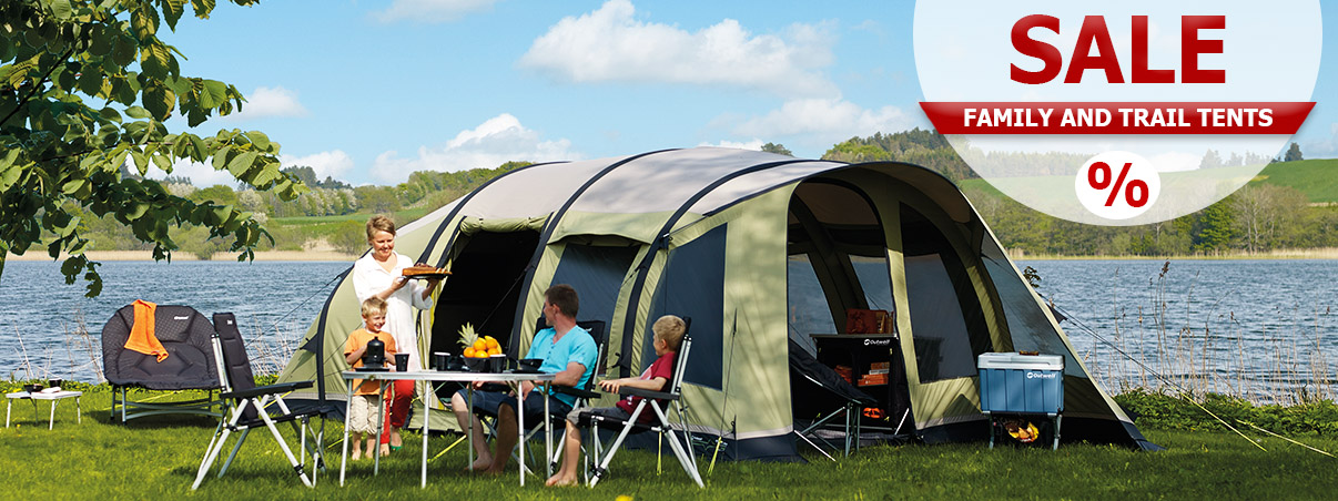 Spring SALE 2019 Family and Trail Tents
