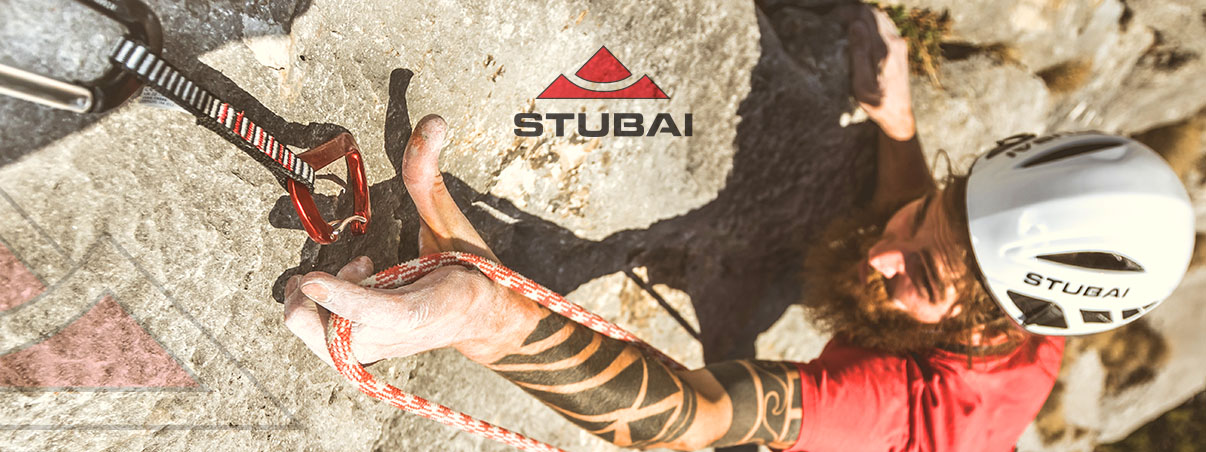 Stubai- alpine equipment - crampons, helmets, carabiners, ice axes, avalanche safety