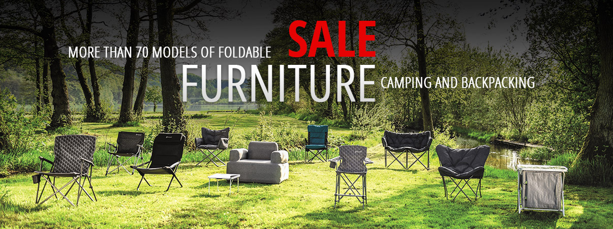 Foldable Furniture - Camping Chairs, Tables, Waredrobes, Kitchens