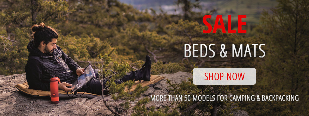 SALE mats & beds for camping and backpacking