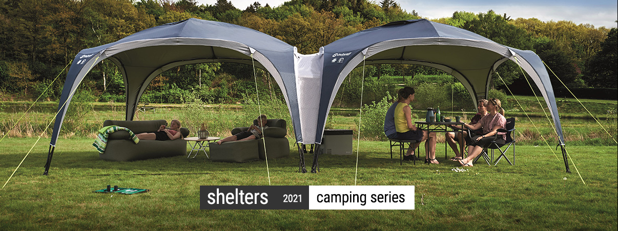 Foldable outdoor Shelters