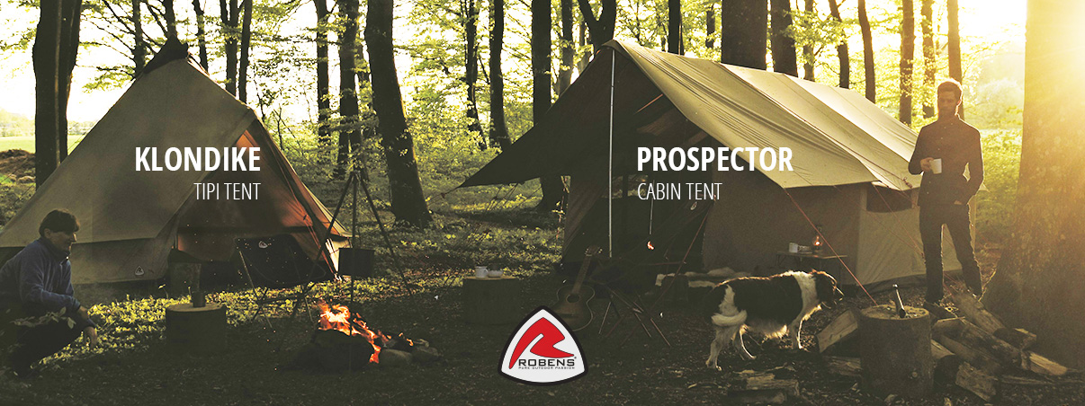 Glamping Robens tents 2021