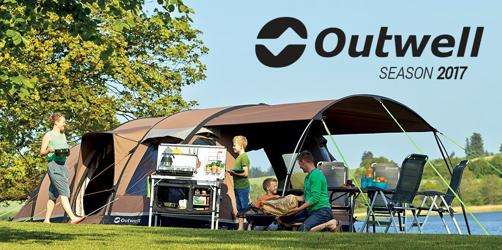 Outwell season 2017 - tents, shelters, sleeping bags, furniture, accessorries
