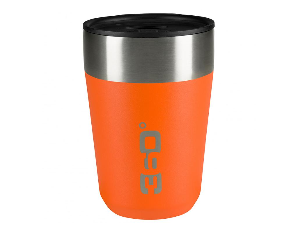 Термо чаша 360 Degrees Vacuum Insulated Stainless Travel Mug 350ml Orange