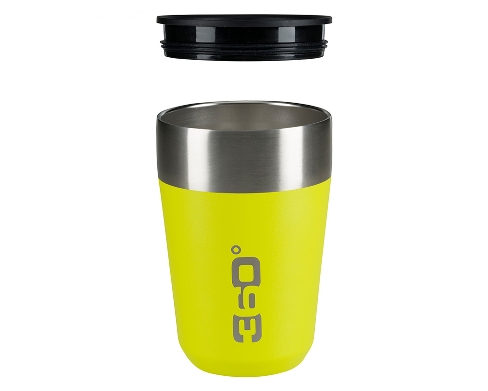 Отворена капачка на термо чаша 360 Degrees Vacuum Insulated Stainless Travel Mug 350ml