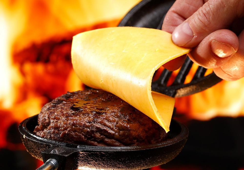 Coghlans Cast Iron Burger Broiler Single