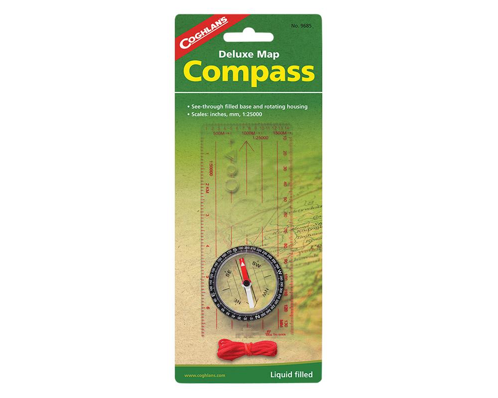Оригинална опаковка Coghlans Deluxe Map Compass 2021