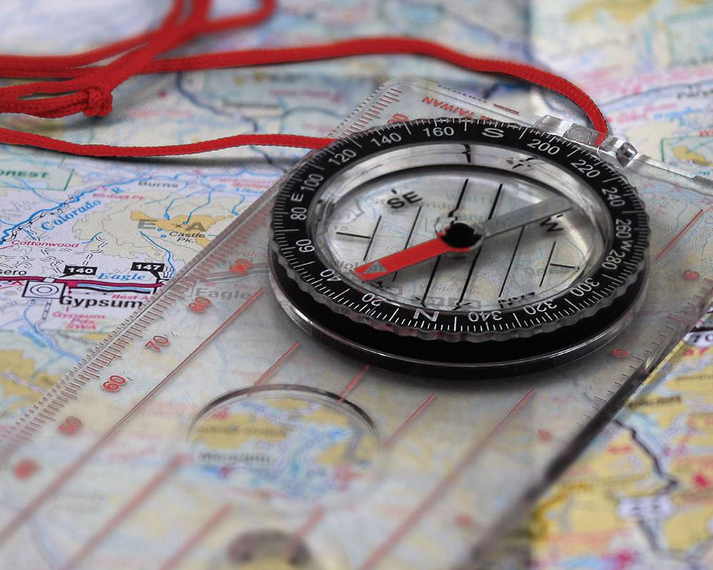 Компас Coghlans Deluxe Map Compass 2021