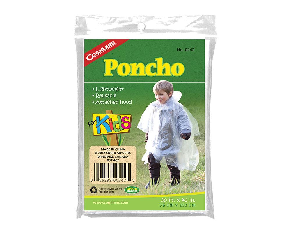 Детско пончо-дъждобран Coghlans Kids Poncho