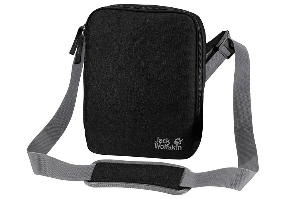 Туристическа чантичка за рамо Jack Wolfskin Gadgetary Black 2019