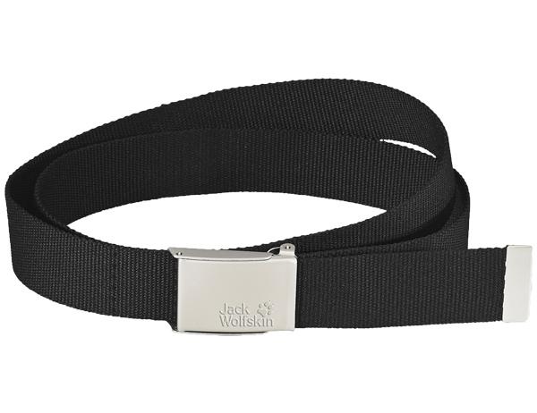 Спортен колан Jack Wolfskin Webbing Belt Wide Black