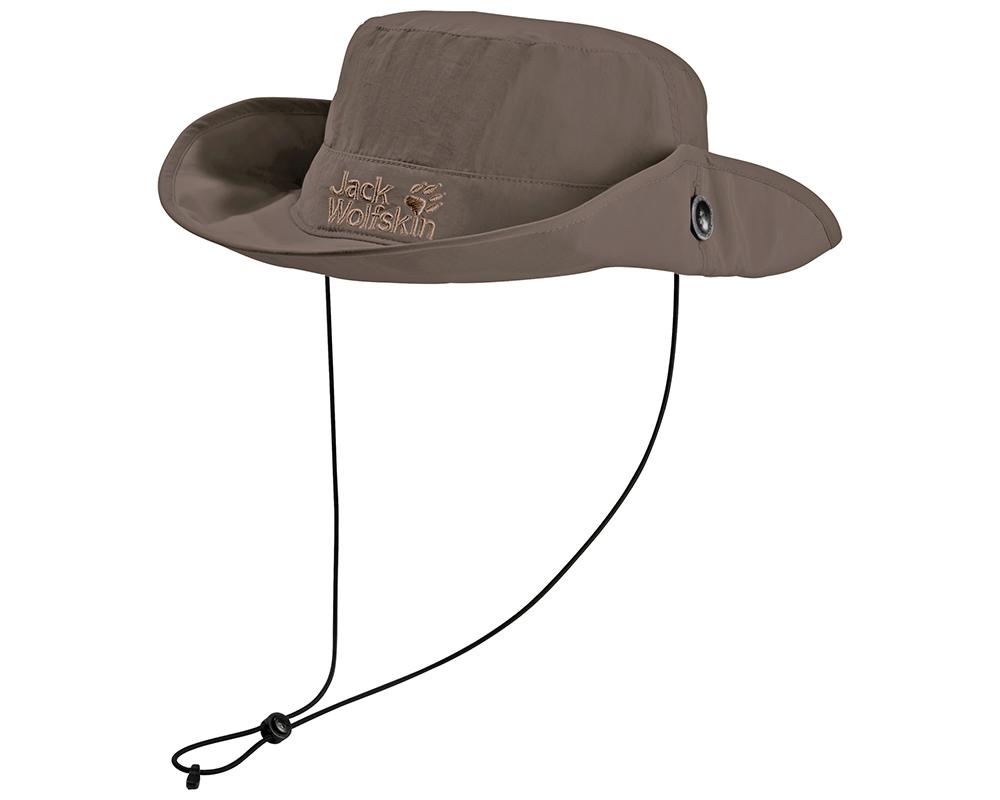 Туристическа шапка с прибрана периферия Jack Wolfskin Supplex