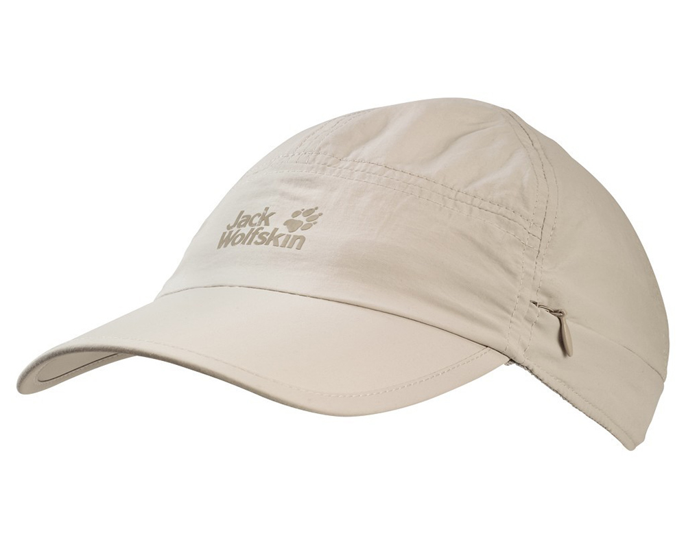 Туристическа шапка Jack Wolfskin Supplex Canyon Cap Light Sand