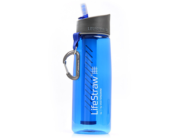 Бутилка за вода с филтър LifeStraw Go Sport 0.65 L