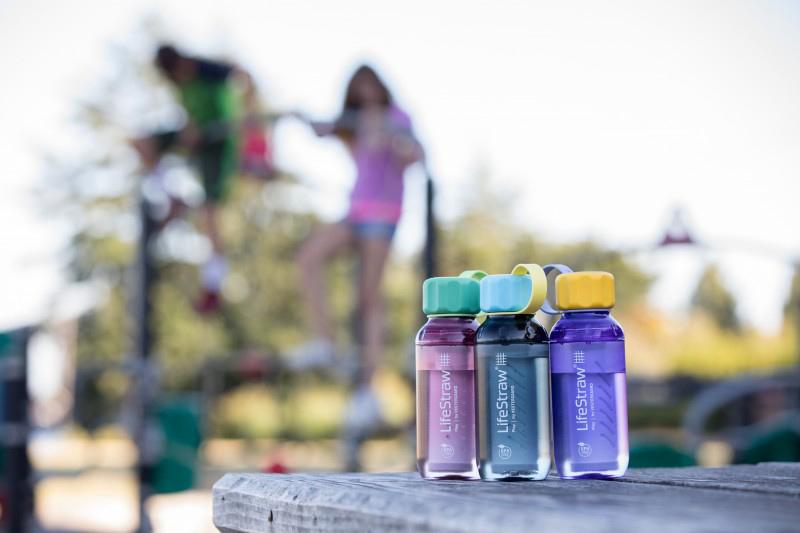 Детски бутилки за вода с филтър LifeStraw Play 2-Stage Filter