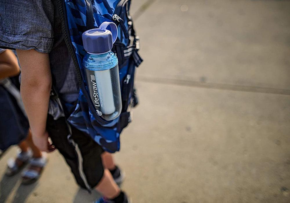 Деца с бутилки за вода с филтър LifeStraw Play 2-Stage Filter