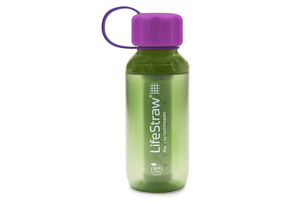 Детска бутилка за вода с филтър LifeStraw Play 2-Stage Filter