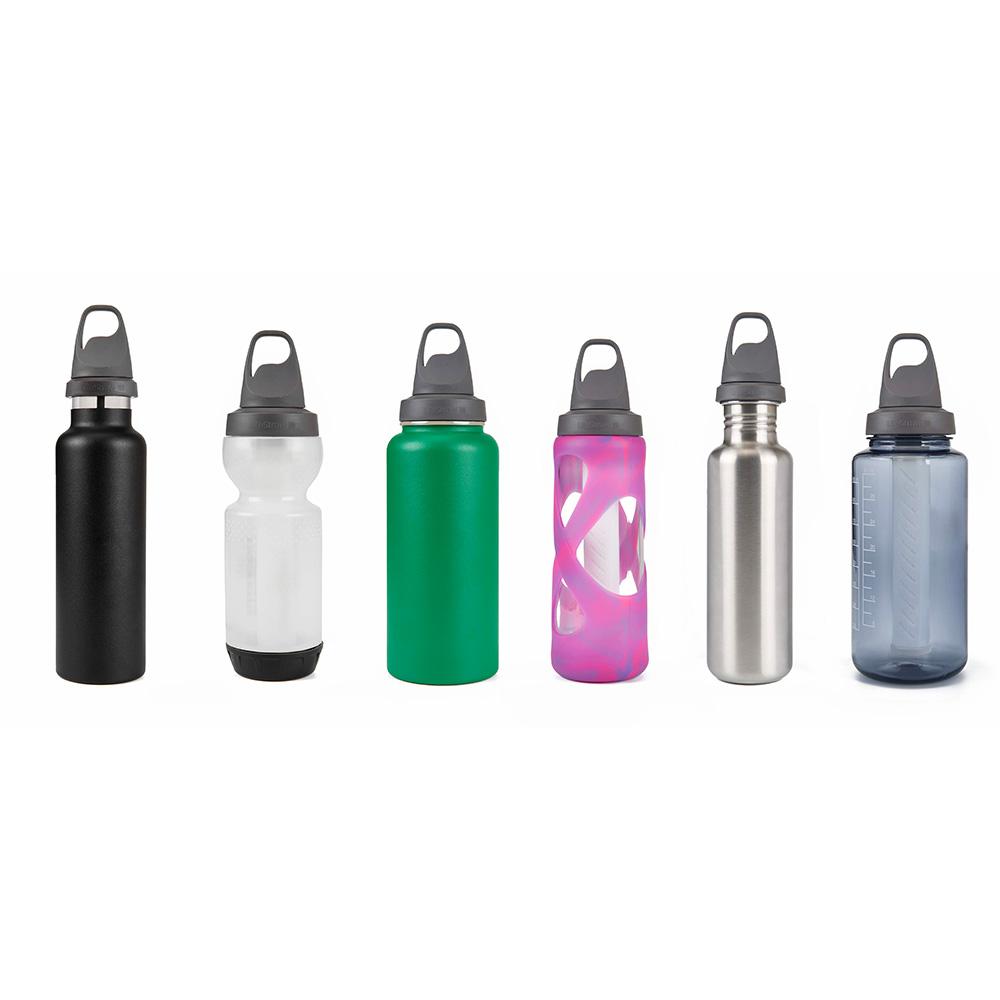 С различни бутилки универсален пречистващ филтър за вода LifeStraw Universal