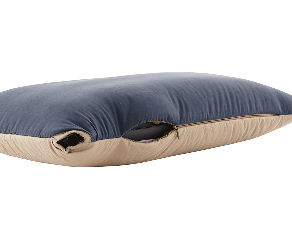 Надуваема възглавница Outwell Conqueror Pillow цип на калъфката