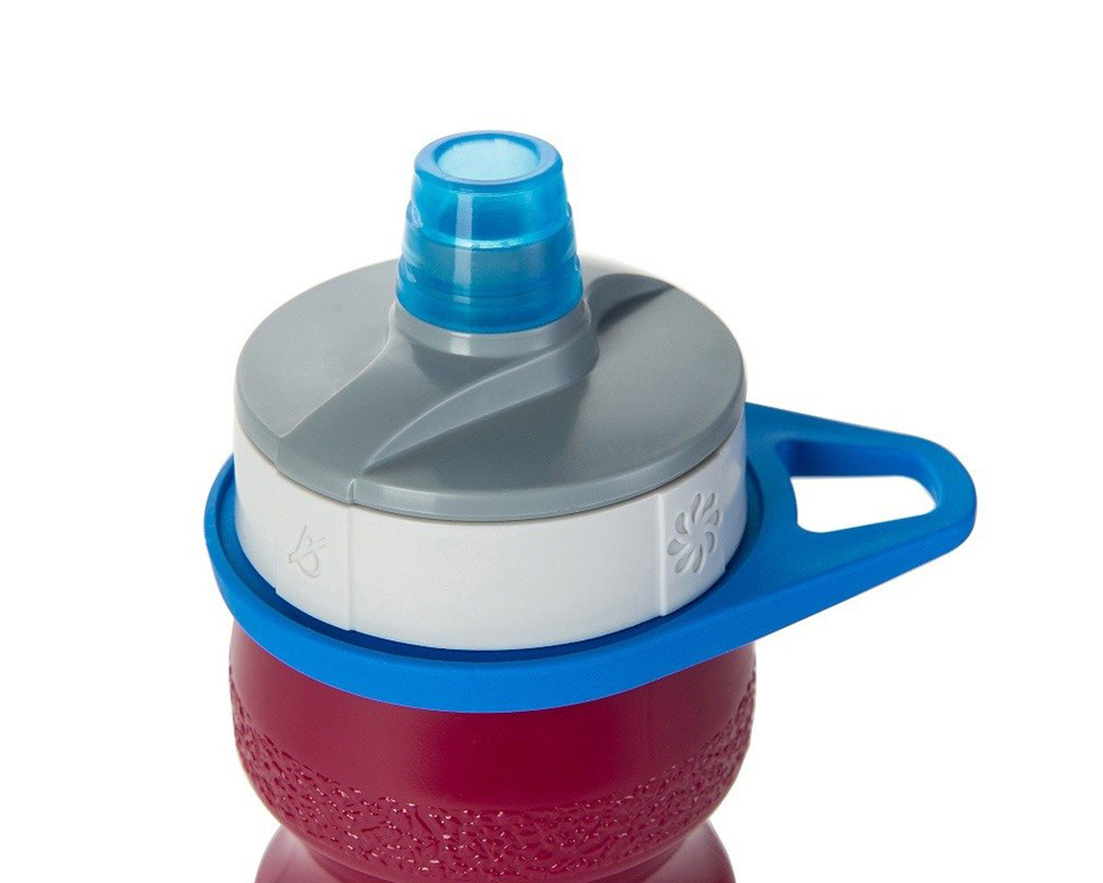 Капачка на бутилка за вода Nalgene Fitness Draft 0.65L White