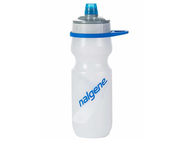 Спортна бутилка за вода Nalgene Fitness Draft 0.65L White