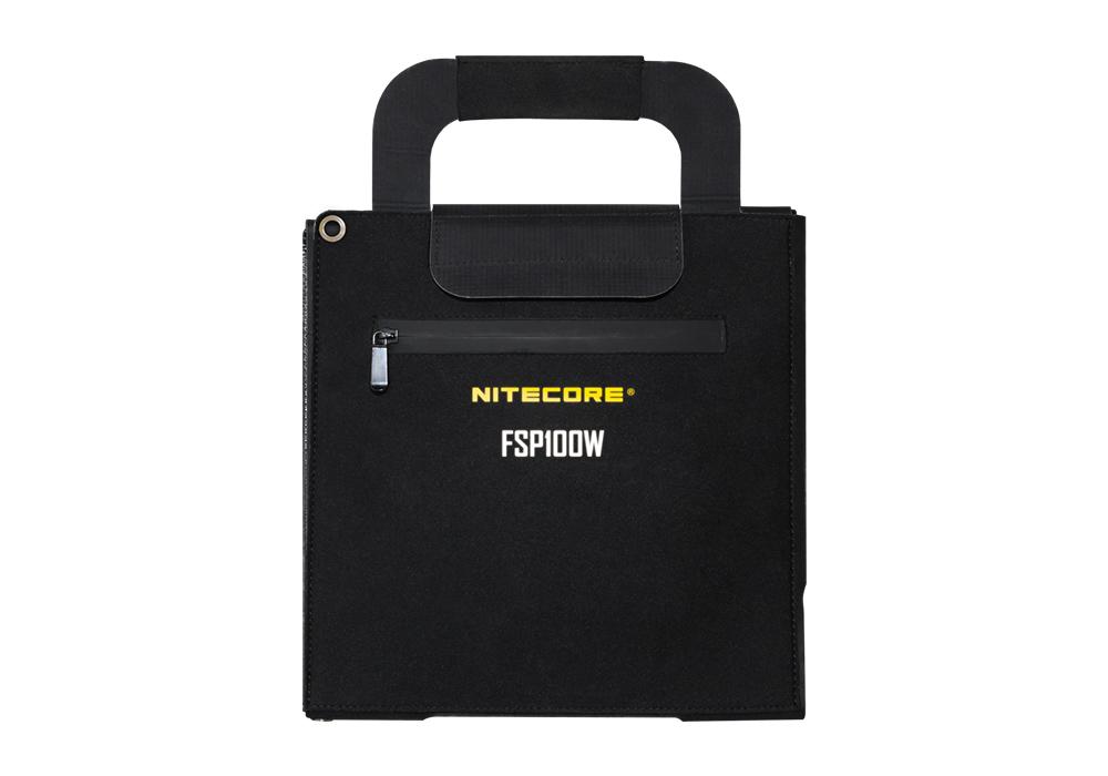 Водоустойчив сгъваем соларен панел Nitecore FSP100W
