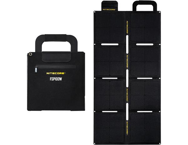Nitecore Waterproof Foldable Solar Panel FSP100W