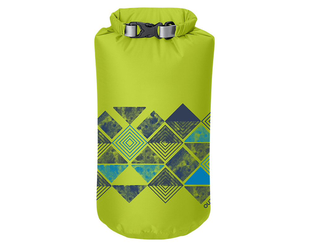 Суха водонепромокаема торба Outdoor Research 20L Abstract Wrap Lemongrass