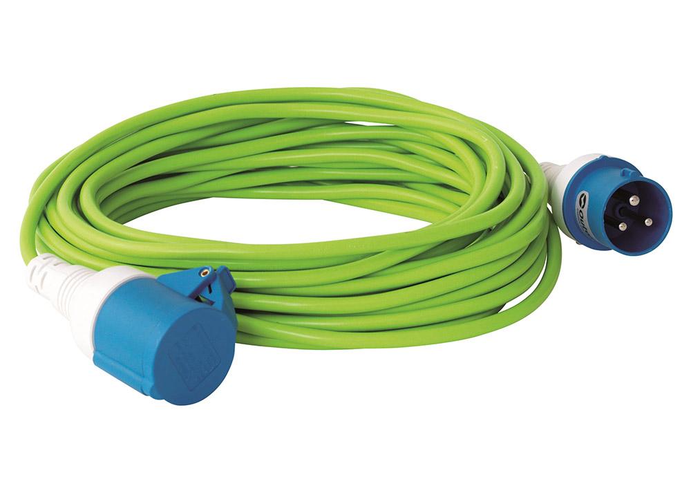 Преходник от евробукса към контакт с кабел 15 м Outwell Conversion Lead 2019