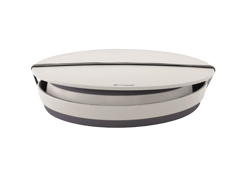 Сгънати с капак купа и купа за отцеждане Outwell Collaps Bowl & Colander Set Navy Night 2020