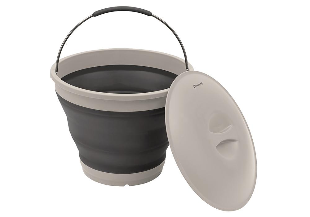 Сгъваема кофа с капак Outwell Collaps Bucket w/lid Navy Night 2020
