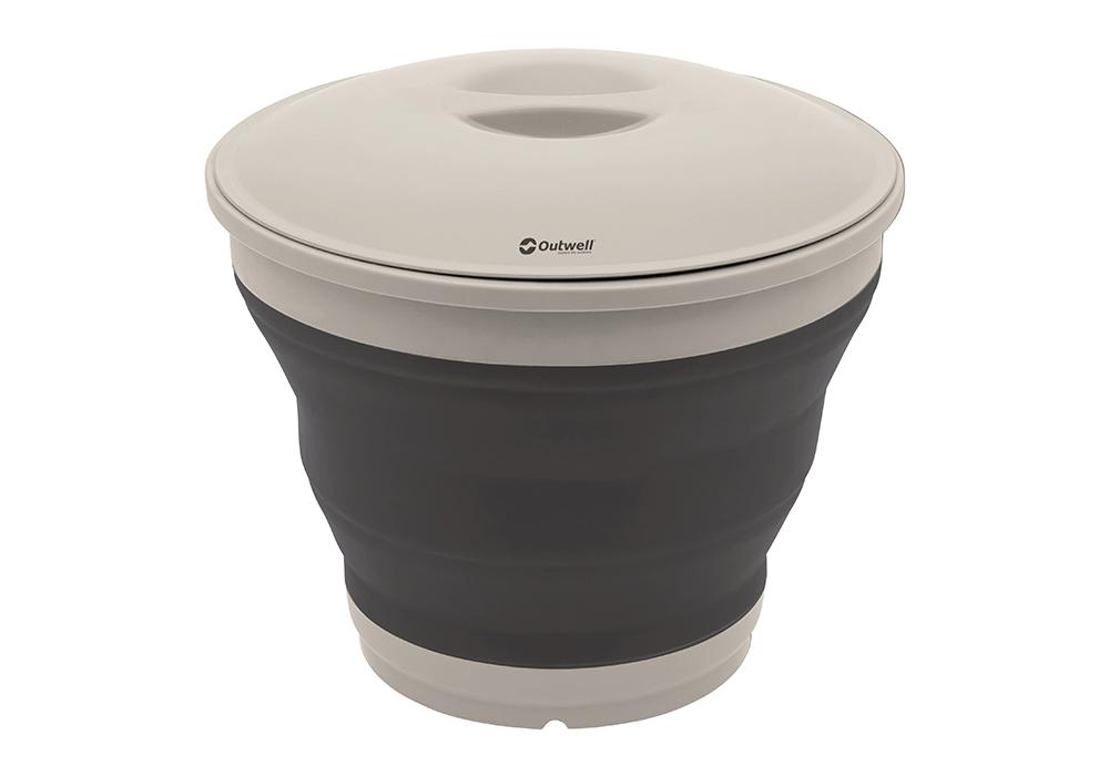 Затворена кофа с капак Outwell Collaps Bucket w/lid Navy Night 2020