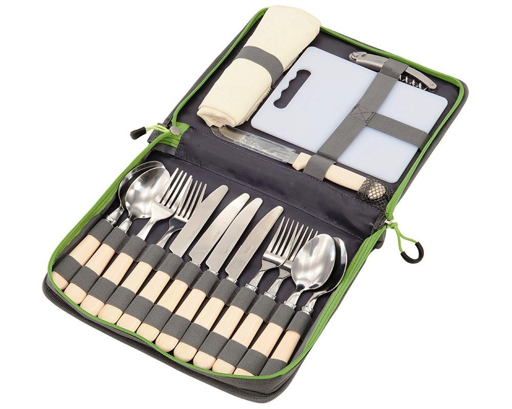 Отворен комплект прибори за пикник Outwell Picnic Cutlery Set