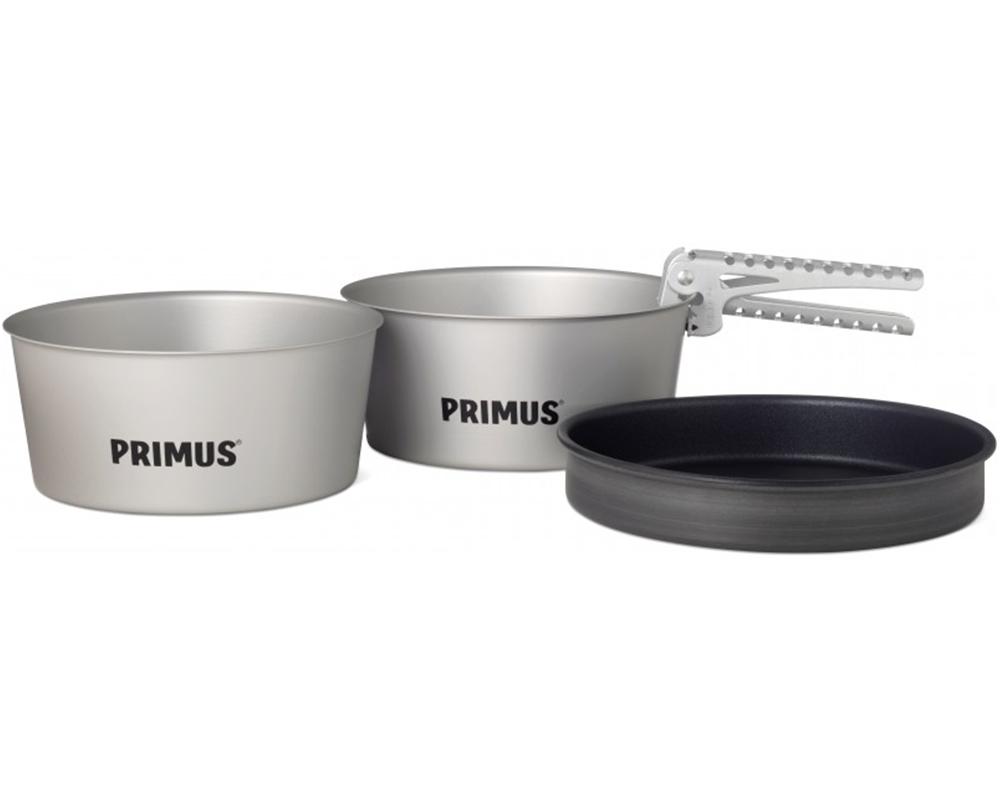 Комплект съдове за готвене Primus Essential Pot Set извадени