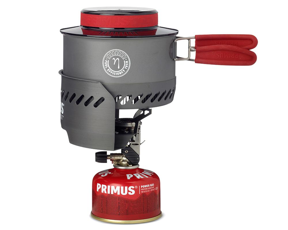 Туристическа газова система със съдове за готвене Primus Express Stove голяма