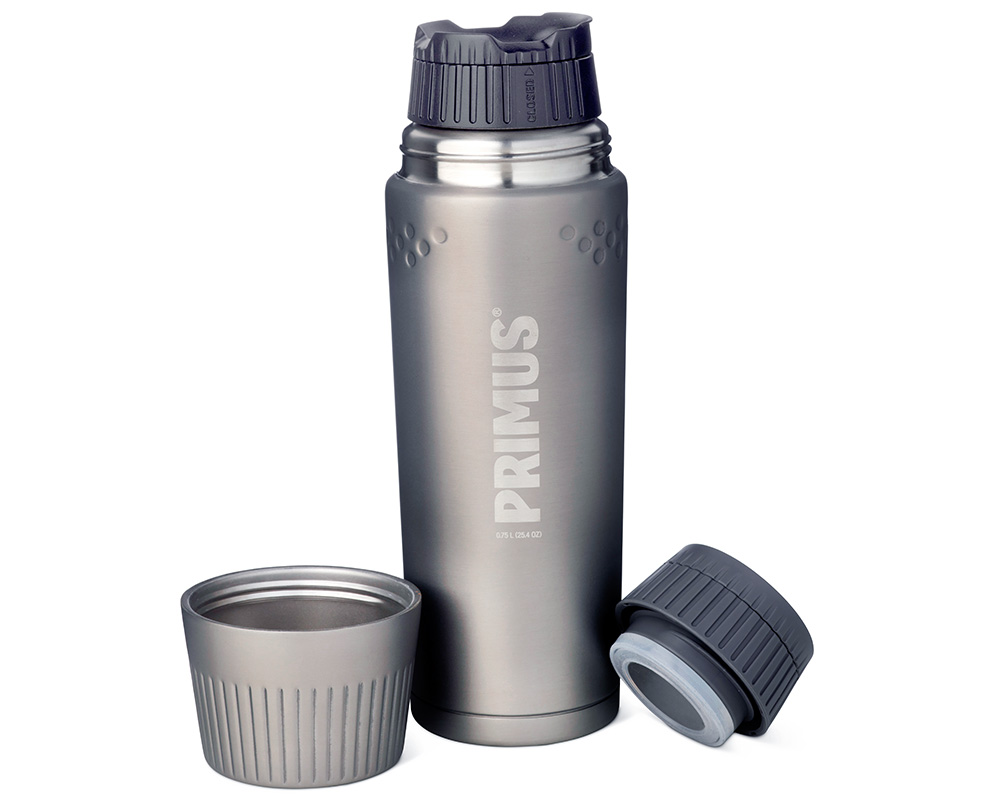 Термос Primus TrailBreak Vacuum Bottle SS отворен