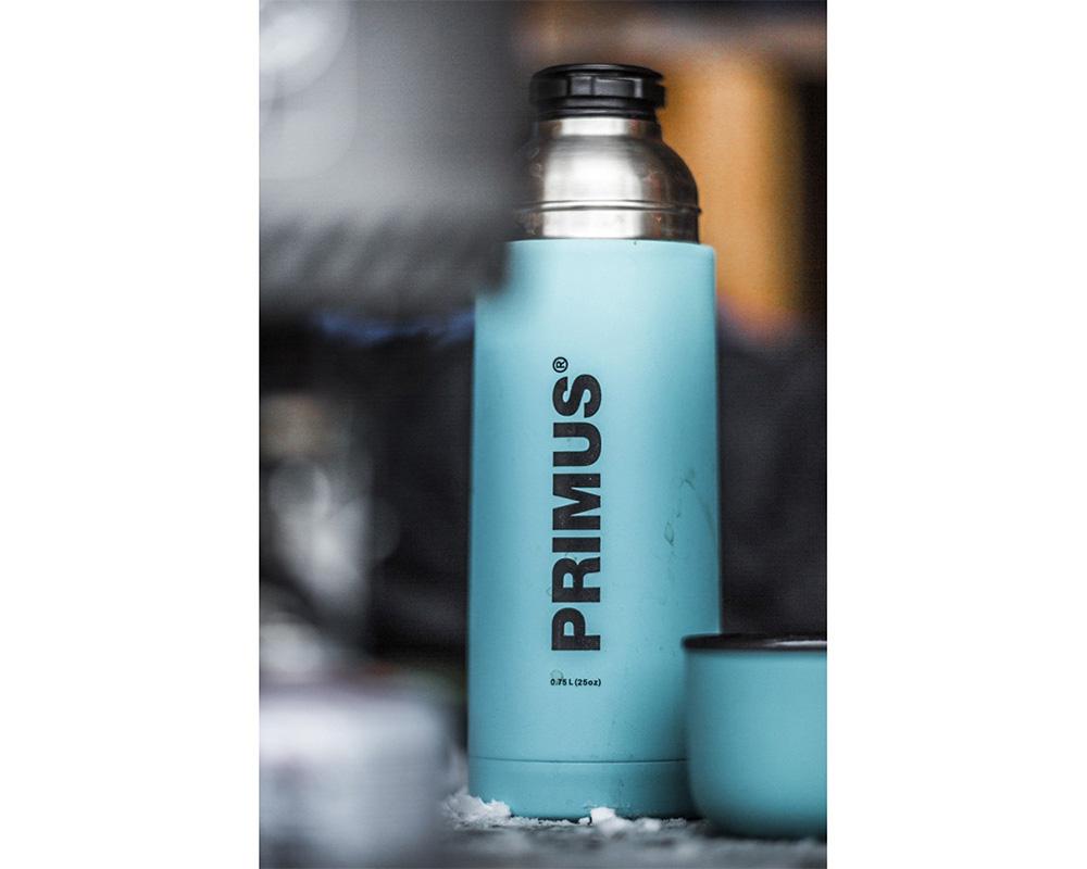Син термос Primus Vacuum Bottle 0.75L
