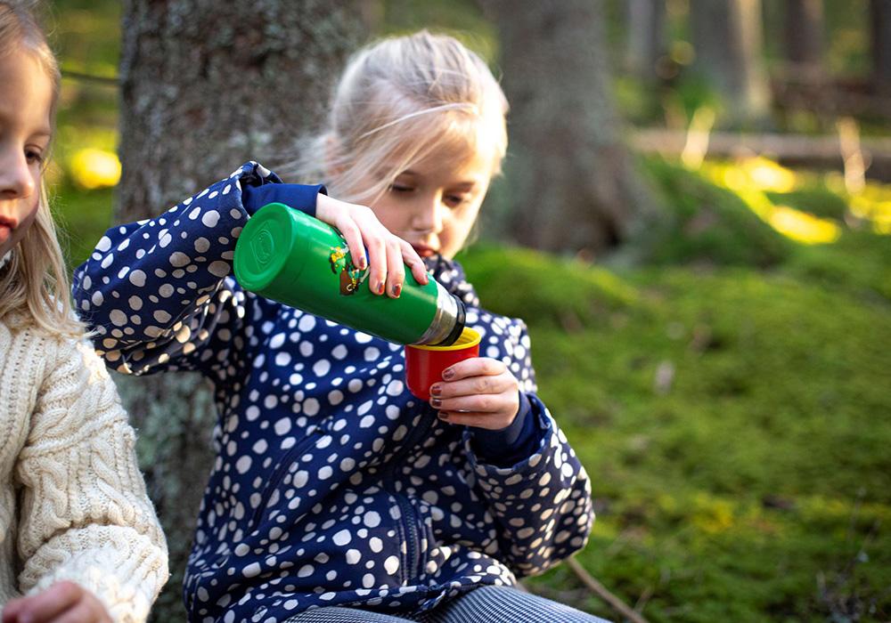 Детски термос Primus Vacuum bottle 0.35L Pippi 2021 Green