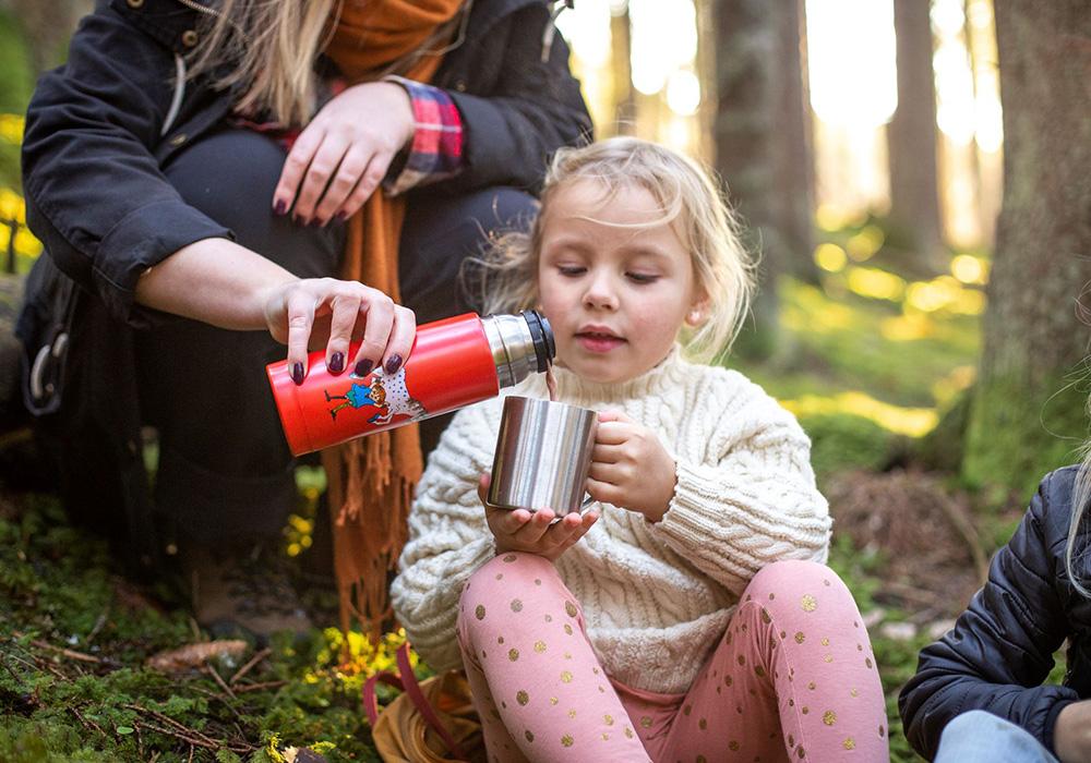 Детски термос Primus Vacuum bottle 0.35L Pippi 2021 Red