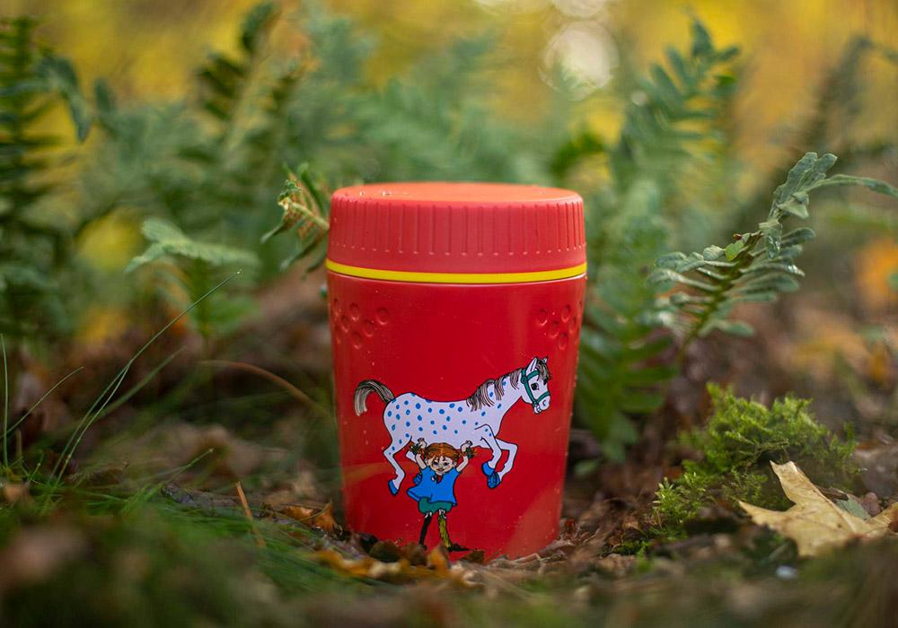 Into nature with Primus TrailBreak Kids Lunch jug 0.4L Pippi Red 2021