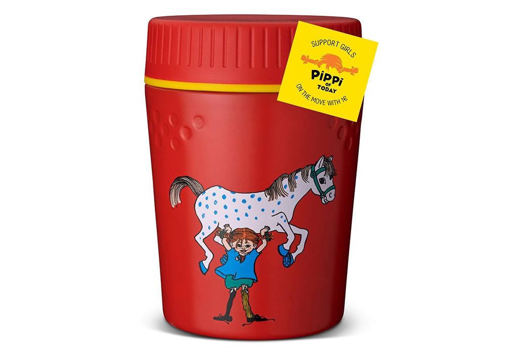 Primus TrailBreak Kids Lunch jug 0.4L Pippi Red 2021