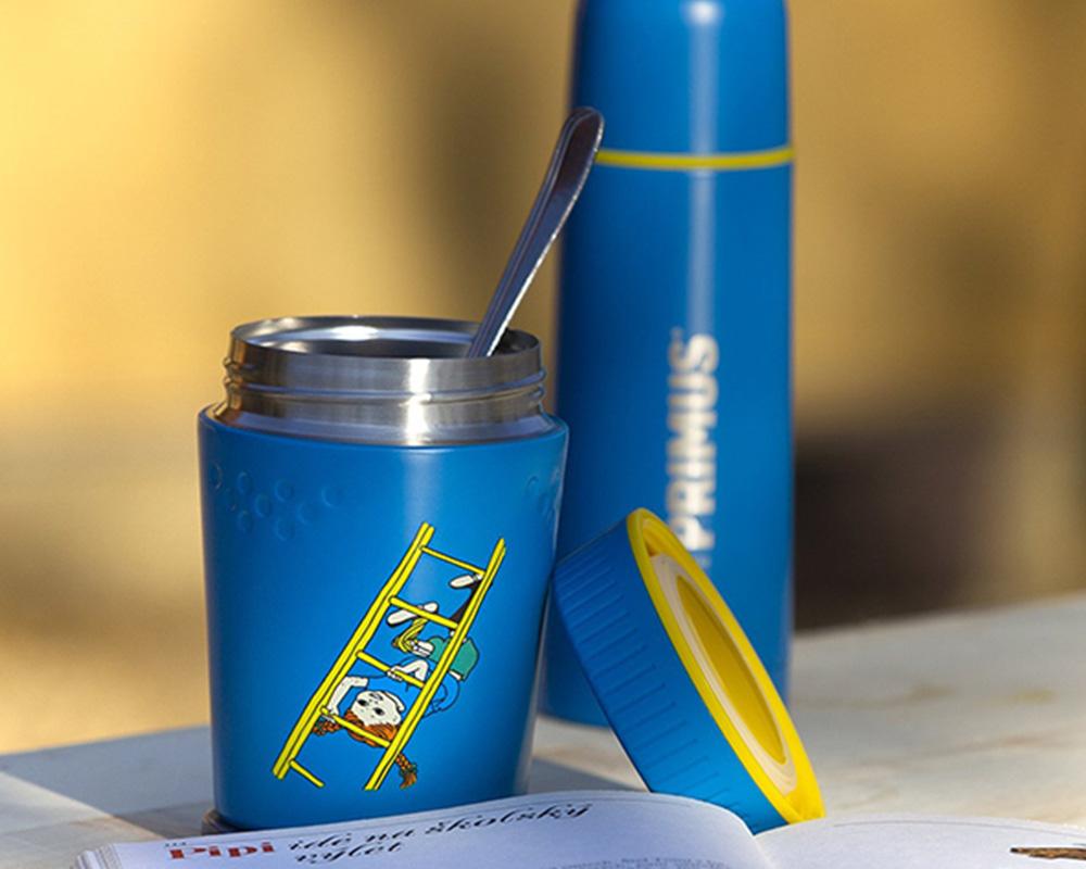 Primus Vacuum TrailBreak Kids Lunch jug 0.4L Pippi Blue 2021