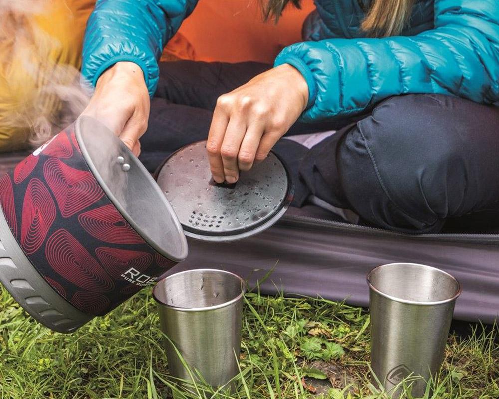 Комплект две чаши от неръждаема стомана Robens Sierra Steel Cup Set