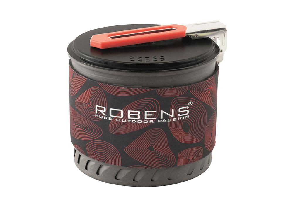 Сгъната дръжка на съд за готвене Robens Turbo Pot 2019