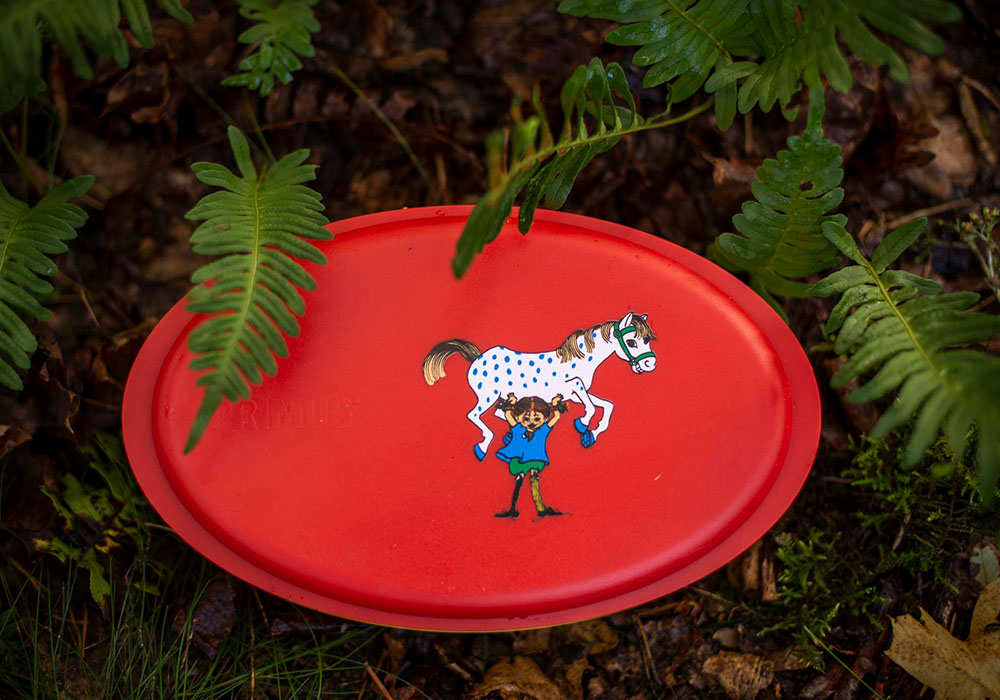 В природата с Primus Meal Set Pippi Red 2020