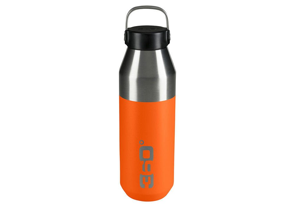 360 Degrees Vacuum Narrow Mouth Stainless Bottle 0.75L Pumpkin