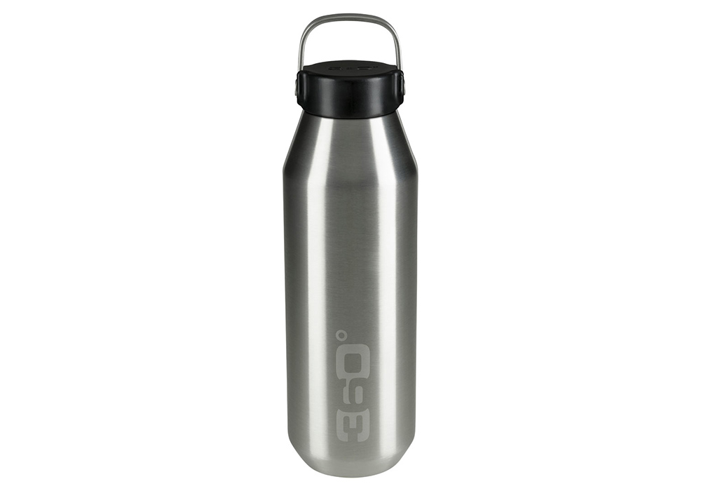 360 Degrees Vacuum Narrow Mouth Stainless Bottle 0.75L Silver